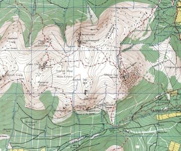 Map of Bennachie