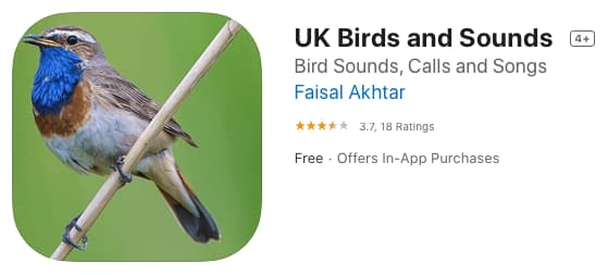 UK Birds and Sounds