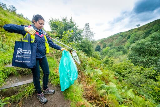 Clean Up Scotland Workers