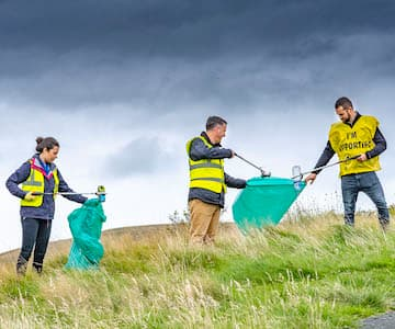 Let's Make Bennachie Litter Free!