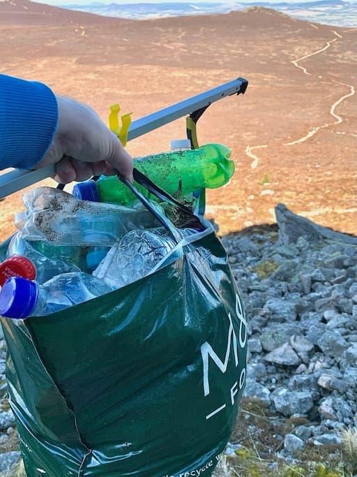 Litter Collected on Bennachie
