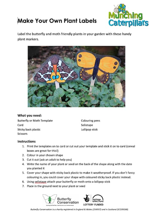 Make Your Own Plant Labels